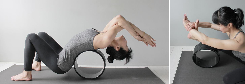 yoga wheel yoga journey