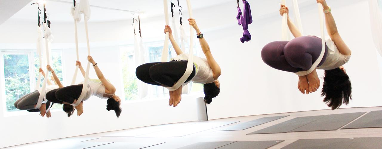 瑜珈旅程 空中瑜珈