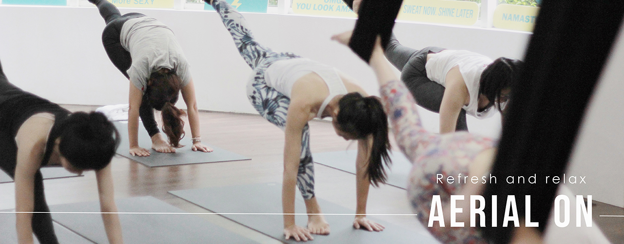 yoga journey aerial yoga