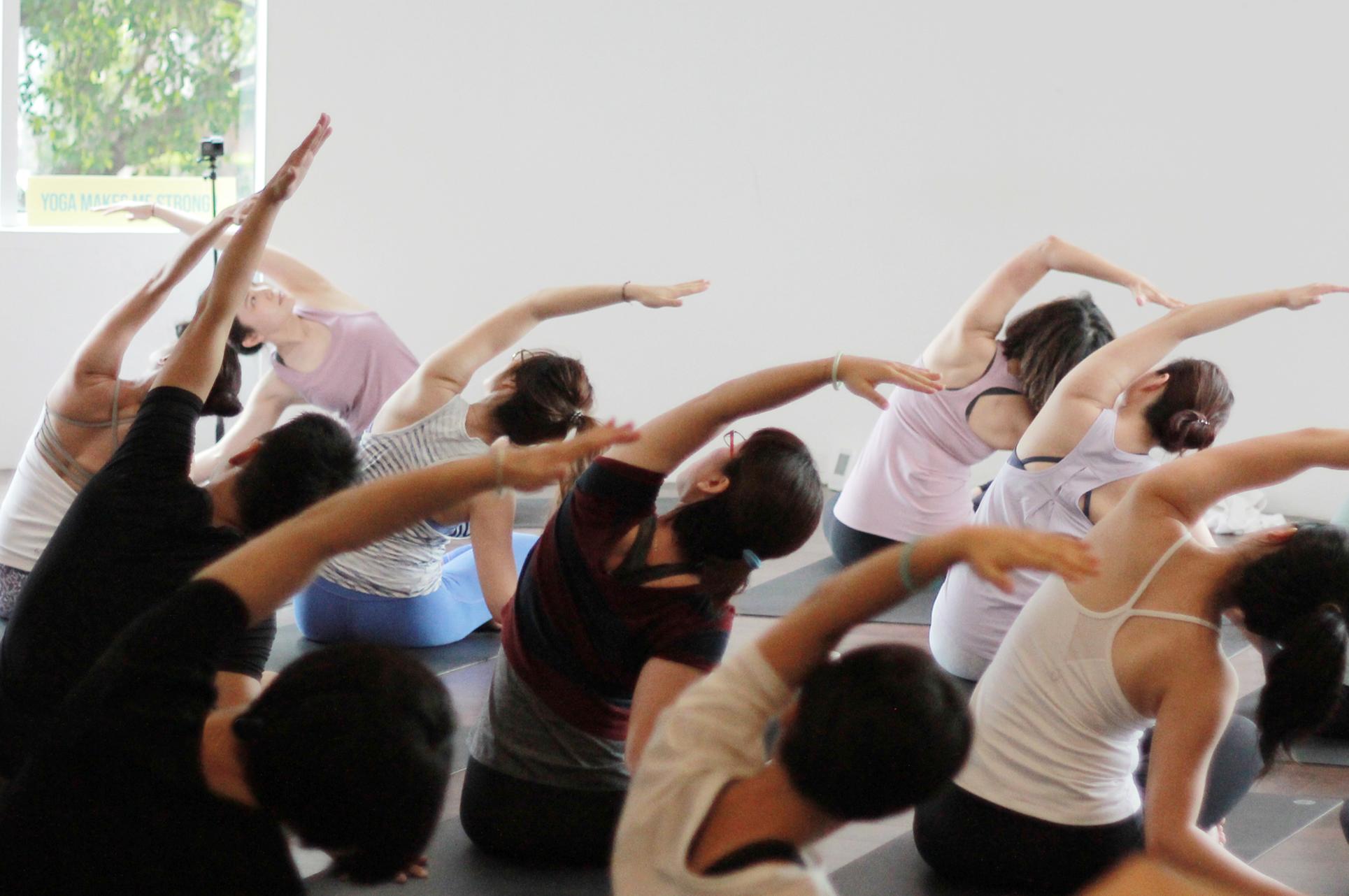 瑜珈/熱瑜珈/yoga