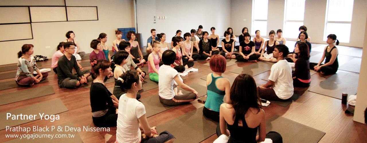 Yoga Journey 瑜珈旅程 Prathap Black P & Deva Nissema 雙人瑜珈Partner Yoga