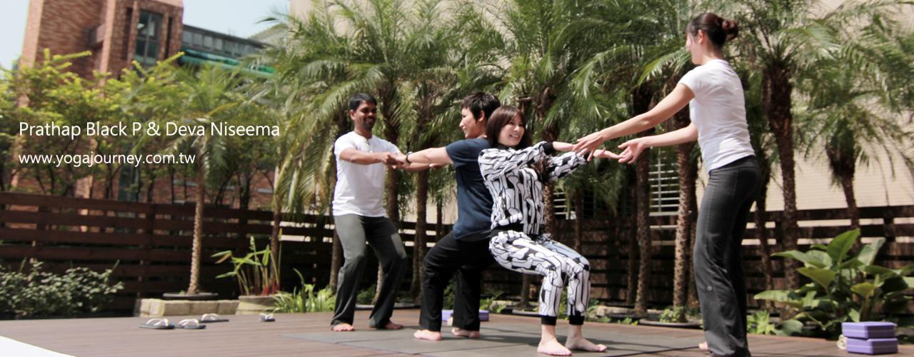 Yoga Journey 瑜珈旅程 Parthap + Niseema 指導 黃小琥 溫嵐 雙人瑜珈 媒體露出