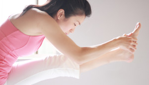 yoga teacher Cynthia