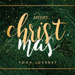 Yoga Journey Xmas VIP card