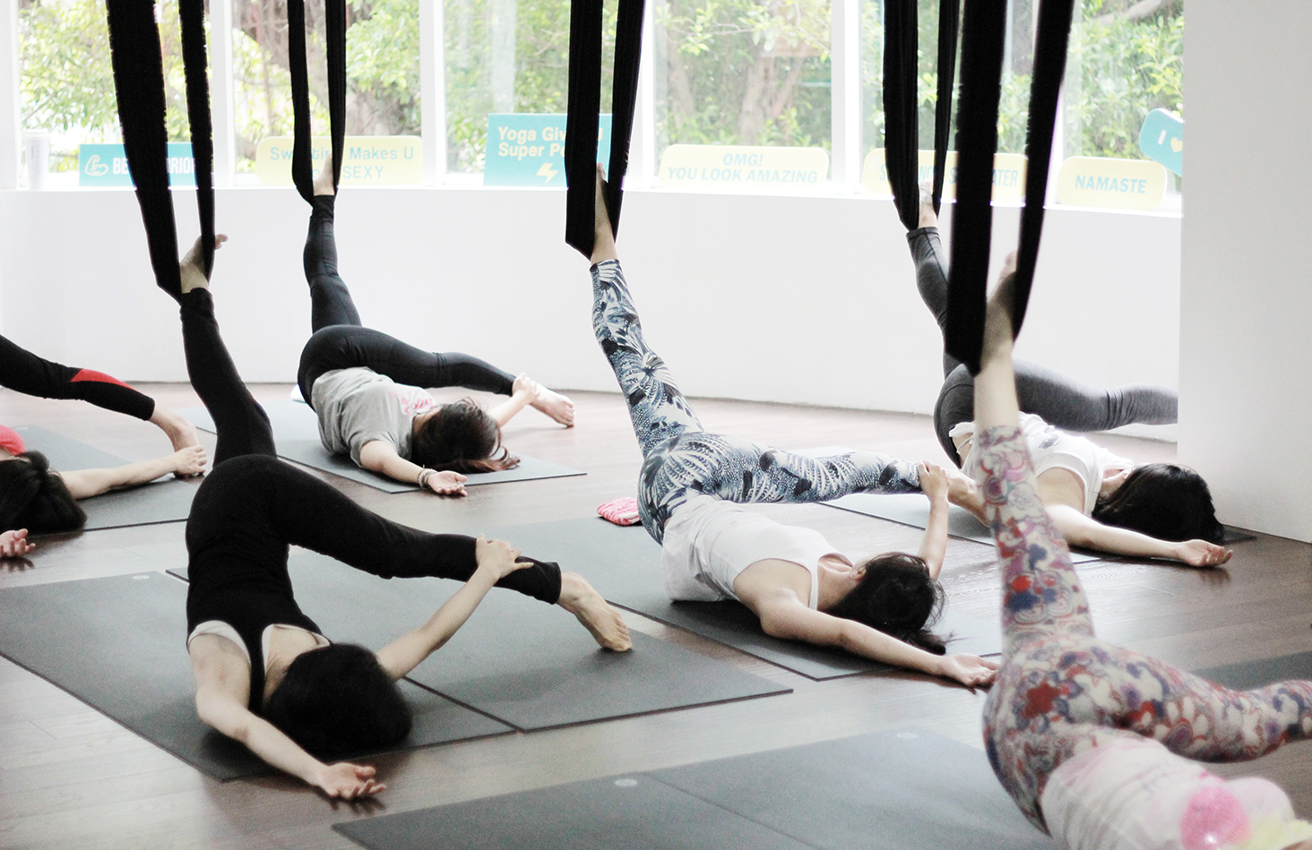 Yoga Journey Aerial Yoga Beginner Class
