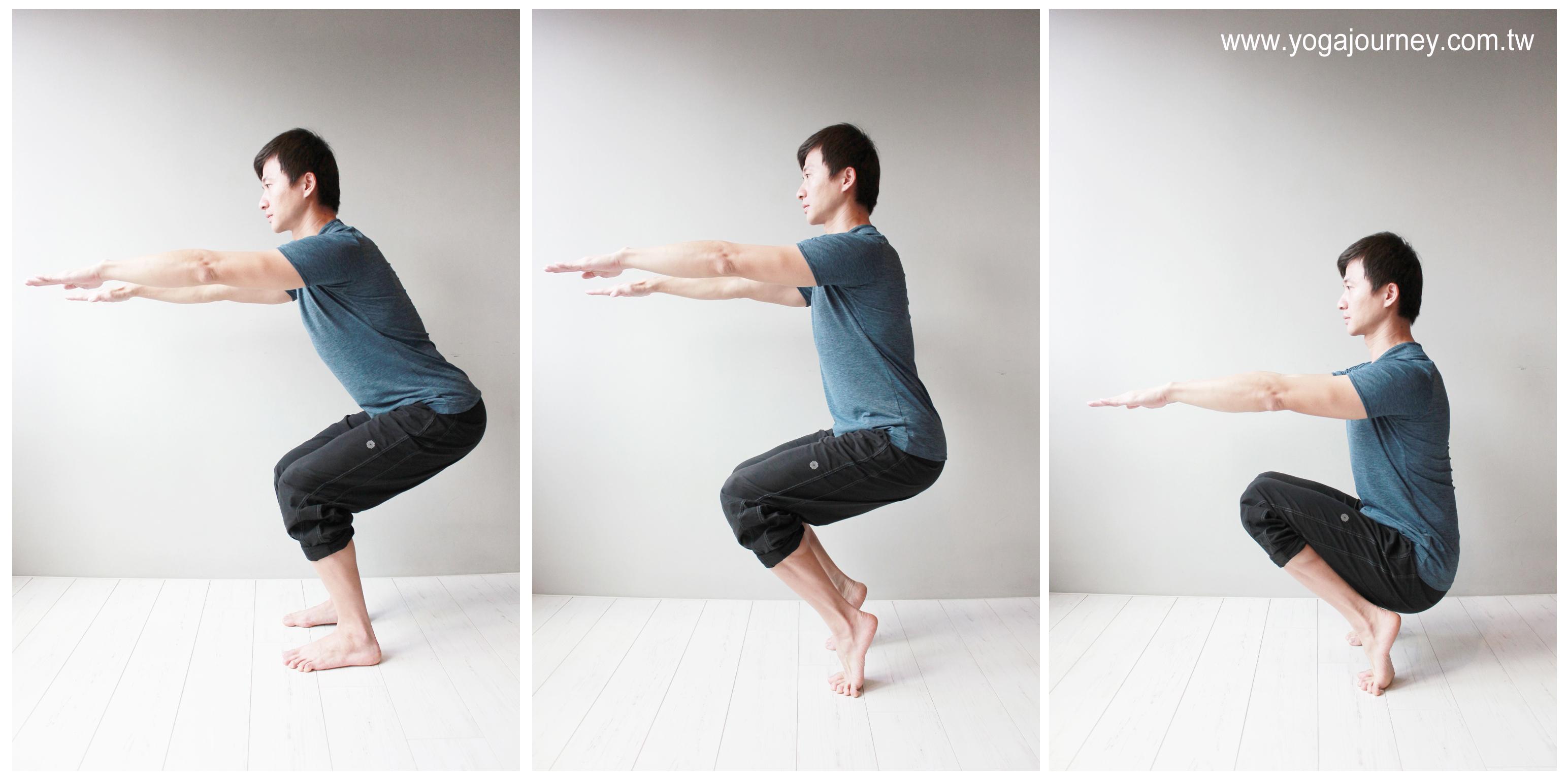 squat plank
