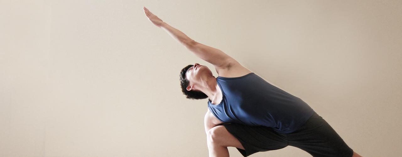 yoga teacher danny