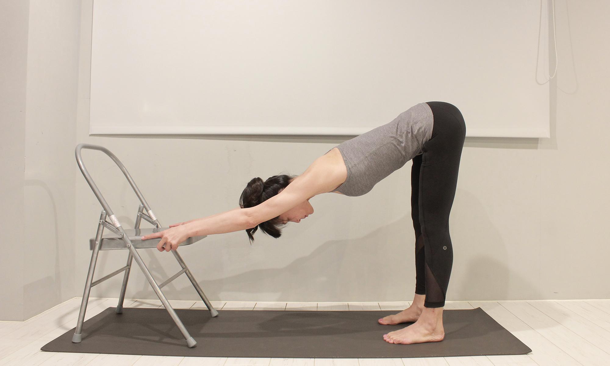 椅子瑜珈 chair yoga