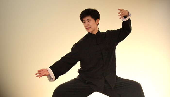 Tai-Chi Teacher — Sky<br /><p>Sky was born at Beitou, Taipei, in 1971. She has loved martial arts since she was a child. After learning all styles of martial arts</p>