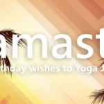 birthday wishes to Yoga Journey