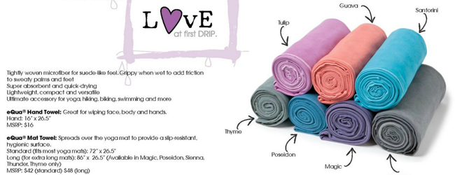 Yoga Journey 瑜珈旅程 manduka towels