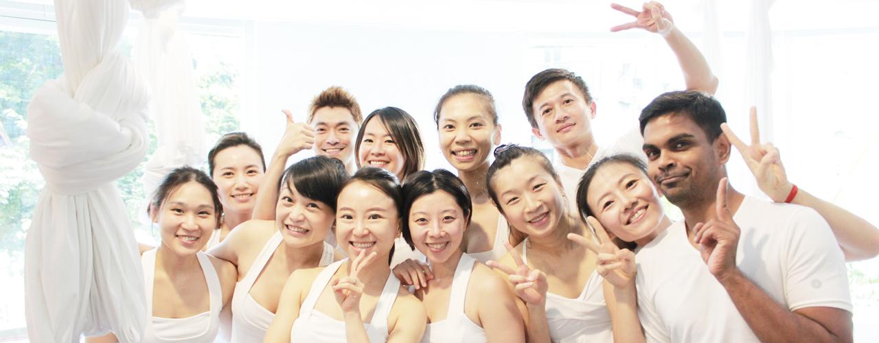 Yoga Journey white yoga party